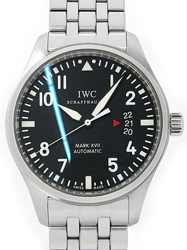 【IWC】【OH済】インターナショナルウォッチカンパニー『パイロットウォッチ マーク17』IW326504 メンズ 自動巻き 6ヶ月保証【中古】