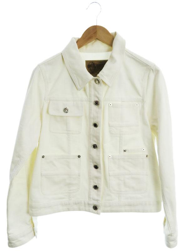 【Louis Vuitton】【イタリア製】【アウター】ルイヴィトン『デニムジャケット size40』レディース Gジャン 1週間保証【中古】
