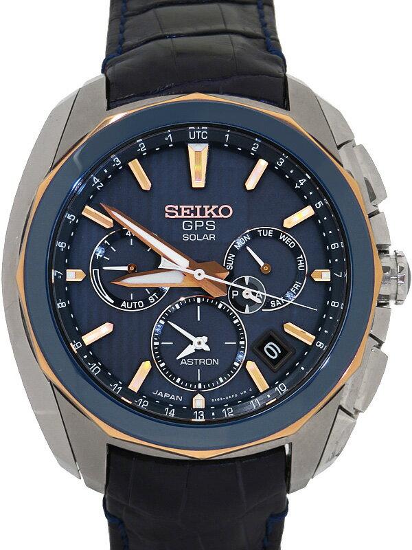 【SEIKO】セイコー『アストロン セイコーウォッチサロンモデル』SBXC031 5X53-0AL0 93****番 メンズ ソーラー電波GPS 3ヶ月保証【中古】