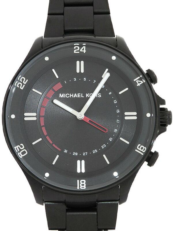【MICHAEL KORS】マイケルコース『ACCESS ハイブリッドスマートウォッチ』MKT4015 メンズ クォーツ 1週間保証【中古】