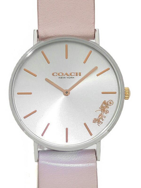【COACH】コーチ『ペリー 36mm』14503258 レディース クォーツ 1週間保証【中古】