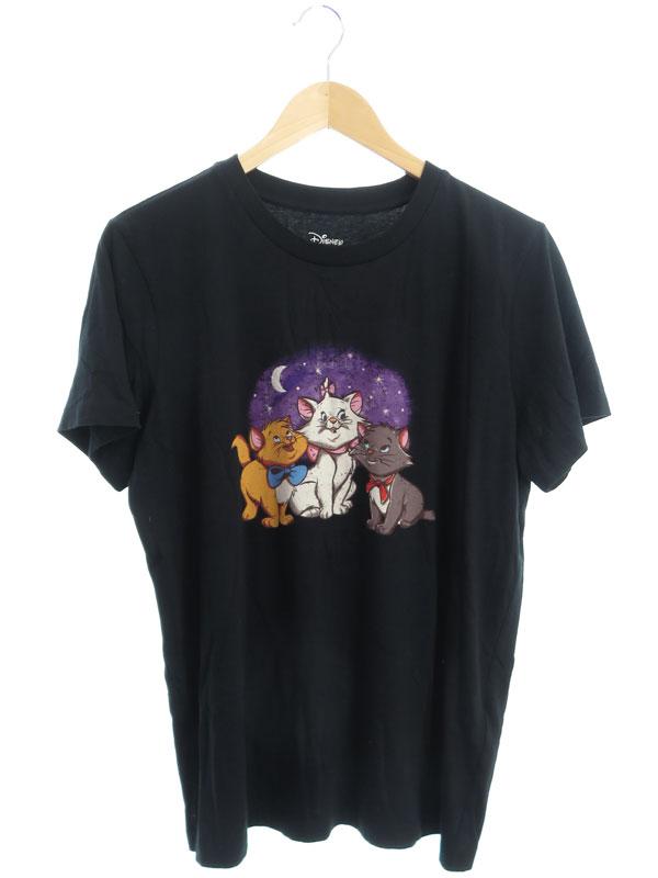 【COACH】【ディズニー】【アリストキャッツ】【トップス】コーチ『半袖Tシャツ sizeMEDIUM』89629 レディース カットソー 1週間保証【中古】