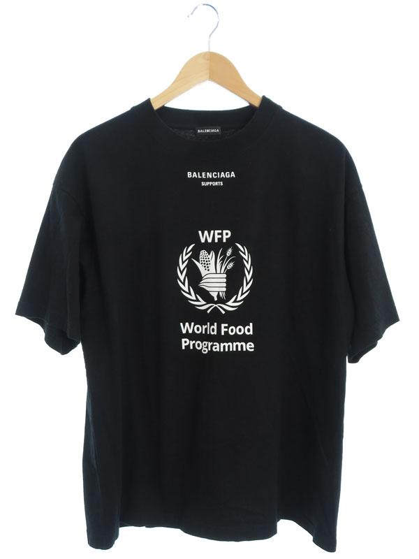 【BALENCIAGA】【WFP】【ポルトガル製】バレンシアガ『半袖Tシャツ sizeXS』541874 TCV36 18AW メンズ カットソー 1週間保証【中古】