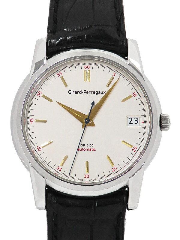【GIRARD-PERREGAUX】【裏スケ】【OH済】ジラールペルゴ『クラシック』9043 メンズ 自動巻き 1ヶ月保証【中古】