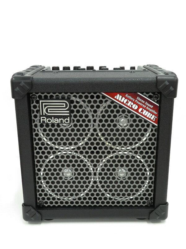 【Roland】【単3×6本】ローランド『ギターアンプ』MICRO CUBE RX 1週間保証【中古】