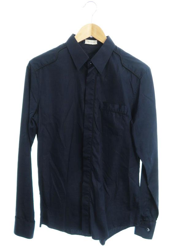 【BALENCIAGA】【イタリア製】【トップス】バレンシアガ『長袖シャツ size40』205085 IP100 2008 メンズ 1週間保証【中古】