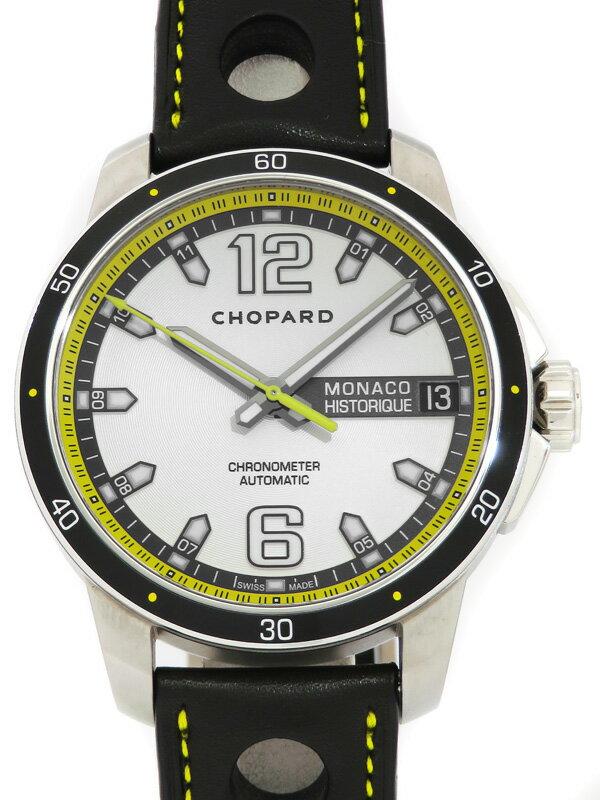 【Chopard】ショパール『グランプリ モナコ ヒストリック クロノメーター』168568-3001 メンズ 自動巻き 3ヶ月保証【中古】