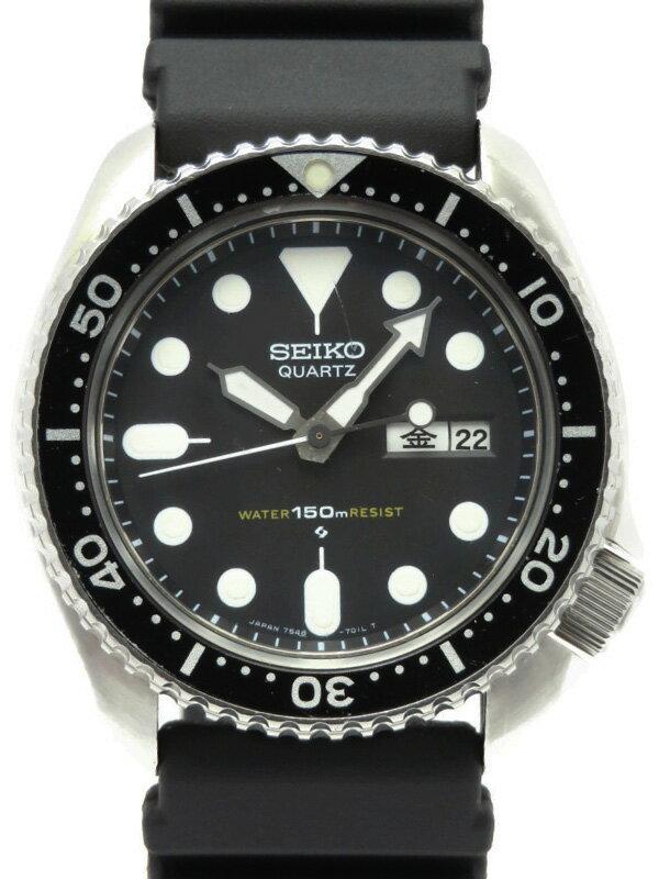 腕時計, メンズ腕時計 SEIKO150mSPYA018 7548-7000 OO 1