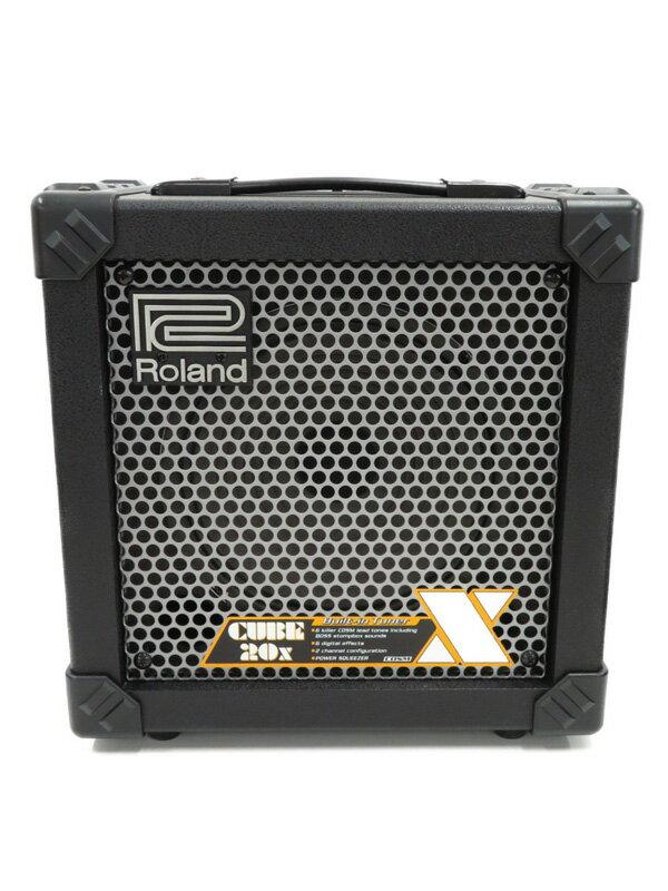 【Roland】ローランド『ギターアンプ』CUBE-20X 1週間保証【中古】