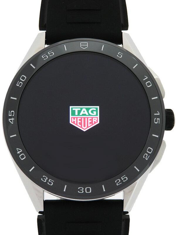 【TAG Heuer】【'20年購入】タグホイヤー『コネクテッド』SBG8A10.BT6219 メンズ スマートウォッチ 3ヶ月保証【中古】