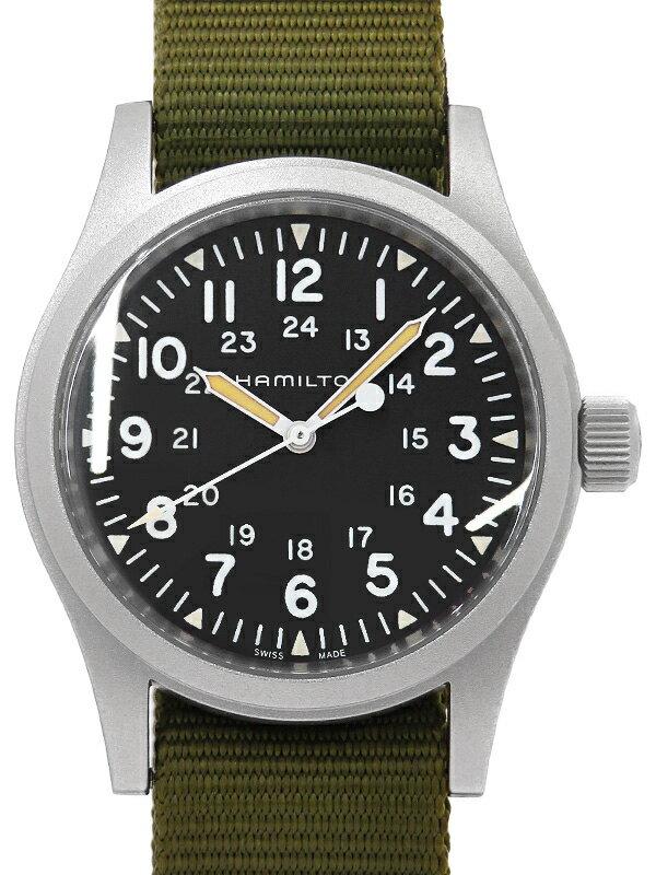 【HAMILTON】ハミルトン『カーキ フィールド メカ NATOモデル』H69429931 メンズ 手巻き 1週間保証【中古】