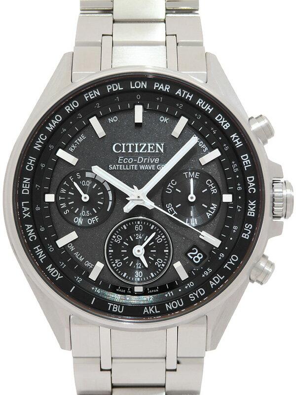 【CITIZEN】【'20年購入】シチズン『アテッサ』CC4000-59E メンズ ソーラー電波GPS 3ヶ月保証【中古】