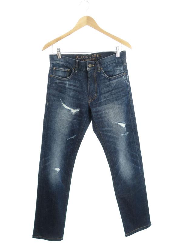 【BLACK LABEL CRESTBRIDGE】【ジーパン】ブラックレーベルクレストブリッジ『ジーンズ sizeS』51R60-206-28 メンズ デニムパンツ 1週間保証【中古】