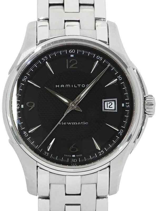 【HAMILTON】【裏スケ】ハミルトン『ジャズマスター ビューマチック』H32515135 メンズ 自動巻き 1週間保証【中古】