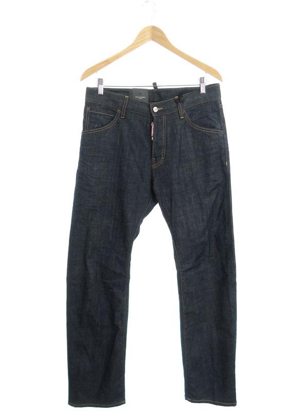 【DSQUARED2】【Slouch Cowboy Jeans】【イタリア製】ディースクエアード『ジーンズ size46』S74LA0843 S30144 2015秋冬 メンズ デニムパンツ 1週間保証【中古】