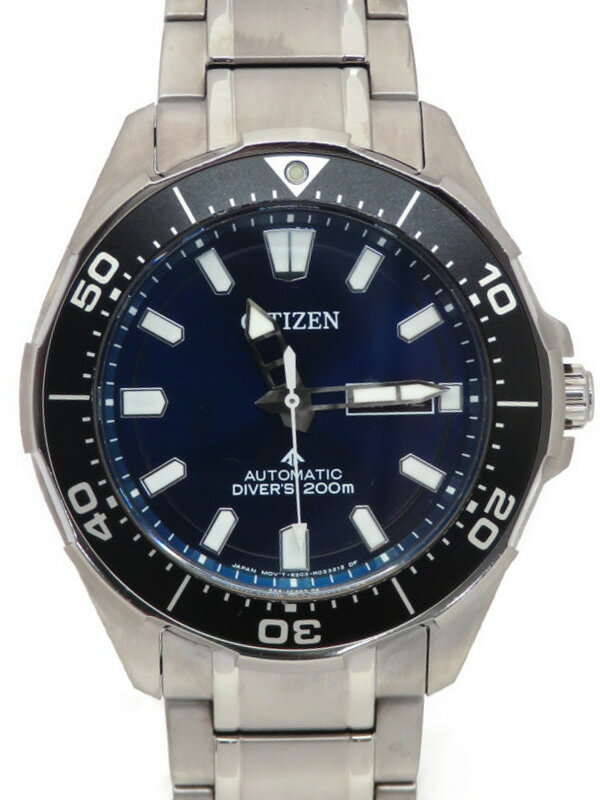 【CITIZEN】シチズン『プロマスター ダイバーズ200m』NY0070-83L メンズ 自動巻き 1週間保証【中古】