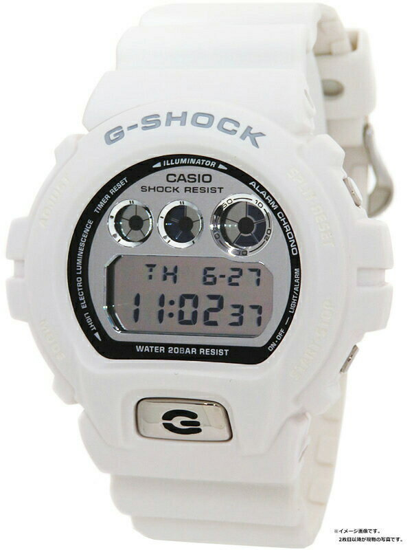 【CASIO】【G-SHOCK】カシオ『Gショック メタリックダイアルシリーズ』DW-6900MR-7 メンズ クォーツ 1週間保証【中古】