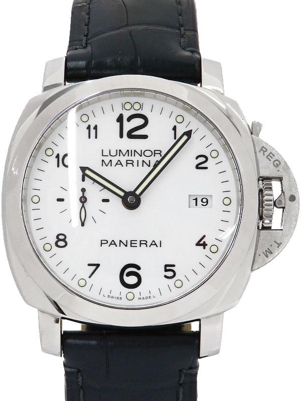 【PANERAI】【裏スケ】パネライ『ルミノール 1950 3デイズ アッチャイオ 44mm』PAM00499 S番'16年製 メンズ 自動巻き 6ヶ月保証【中古】