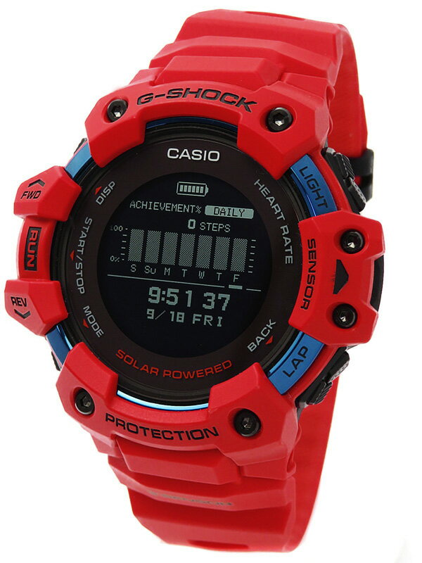 【CASIO】【G-SHOCK】【スマートフォンリンク】カシオ『Gショック Gスクワッド』GBD-H1000-4JR メンズ ソーラー電波GPS 1ヶ月保証【中古】