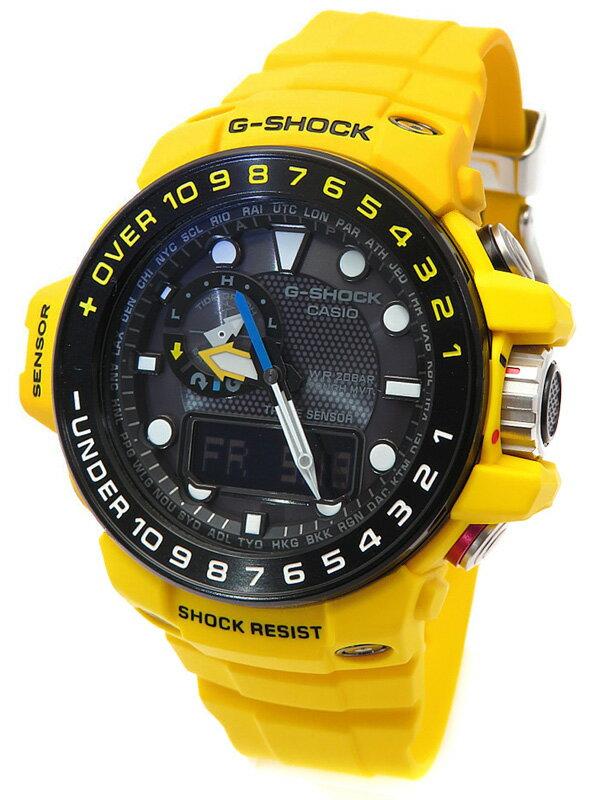 【CASIO】【G-SHOCK】カシオ『Gショック ガルフマスター』GWN-1000H-9AJF メンズ ソーラー電波クォーツ 1週間保証【中古】