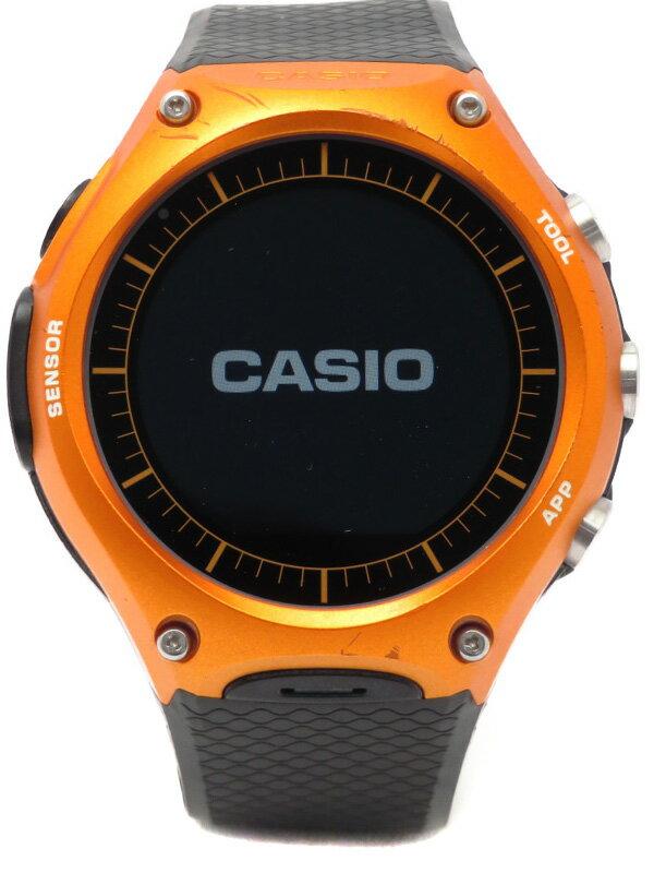 【CASIO】カシオ『スマート アウトドアウォッチ』WSD-F10RG メンズ ウェアラブル端末 1週間保証【中古】