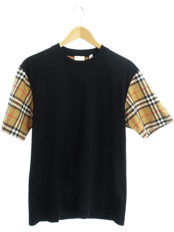 【BURBERRY】【トップス】バーバリー『半袖Tシャツ sizeXS TP』8014895 レディース カットソー 1週間保証【中古】