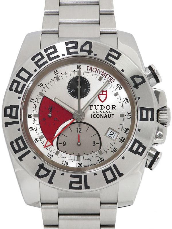 【TUDOR】【チューダー】【内部点検・仕上済】チュードル『アイコノート GMT クロノグラフ』20400 メンズ 自動巻き 3ヶ月保証【中古】