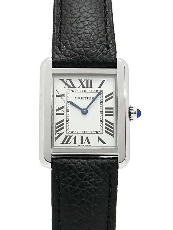 【Cartier】【電池交換済】カルティエ『タンクソロ SM』WSTA0030 レディース クォーツ 3ヶ月保証【中古】