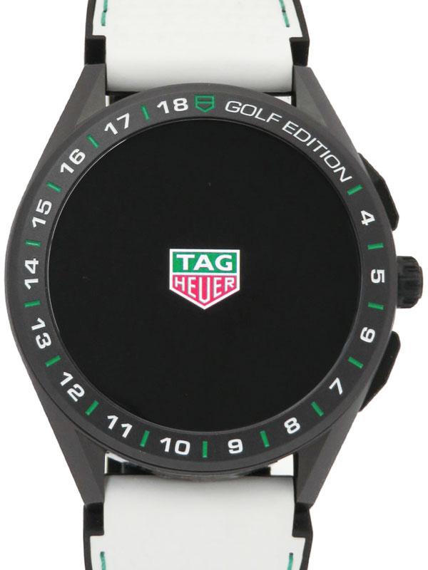 【TAG Heuer】タグホイヤー『コネクテッド ゴルフ エディション』SBG8A82.EB0206 メンズ スマートウォッチ 3ヶ月保証【中古】