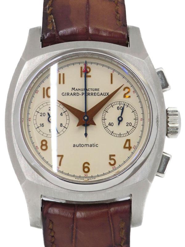【GIRARD-PERREGAUX】ジラールペルゴ『ヴィンテージ 1960 クロノグラフ』2598 メンズ 自動巻き 3ヶ月保証【中古】