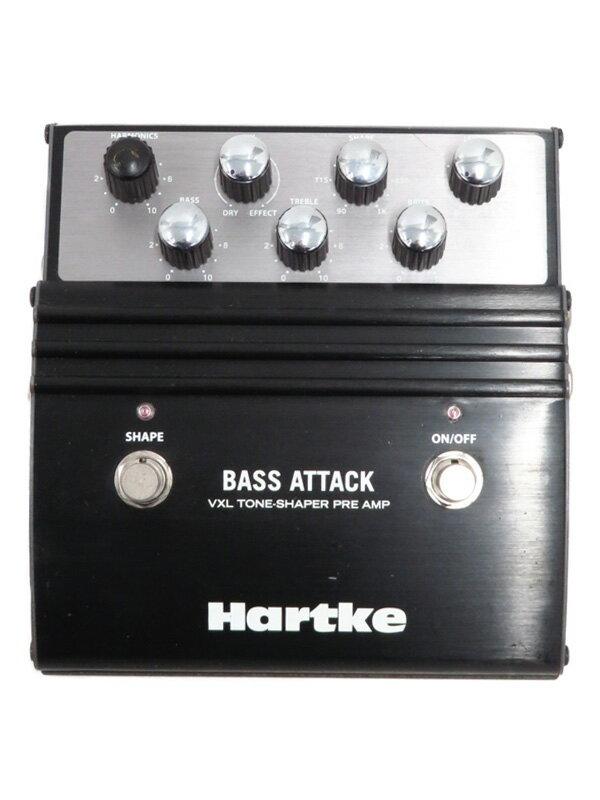 【Hartke】ハートキー『ベースプリアンプ』BASS ATTACK エフェクター 1週間保証【中古】
