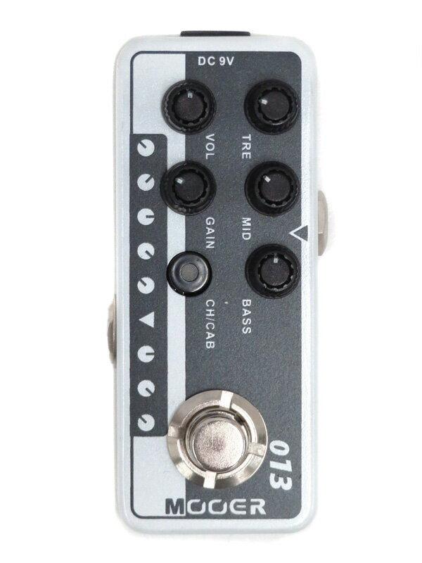 【MOOER】ムーアー『プリアンプ』Micro Preamp 013 MATCH BOX コンパクトエフェクター 1週間保証【中古】