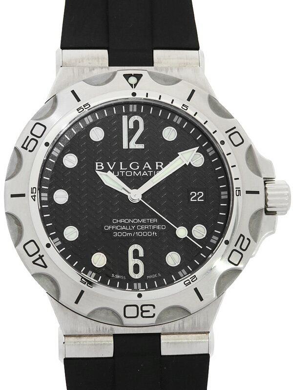 【BVLGARI】ブルガリ『ディアゴノ プロフェッショナル』DP42SSD メンズ 自動巻き 3ヶ月保証【中古】
