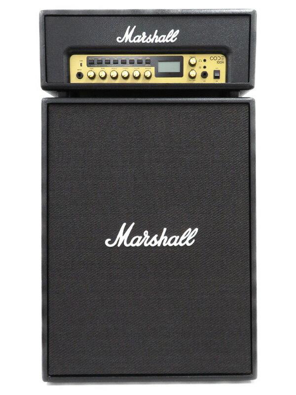 【Marshall】【キャビネットスピーカーセット】マーシャル『ギターアンプ』CODE100H CODE212 スピーカー 1週間保証【中古】