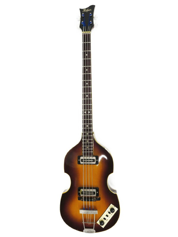 【Hofner】【工房メンテ】ヘフナー『エレキベース』500/1 Violin Bass 1週間保証【中古】