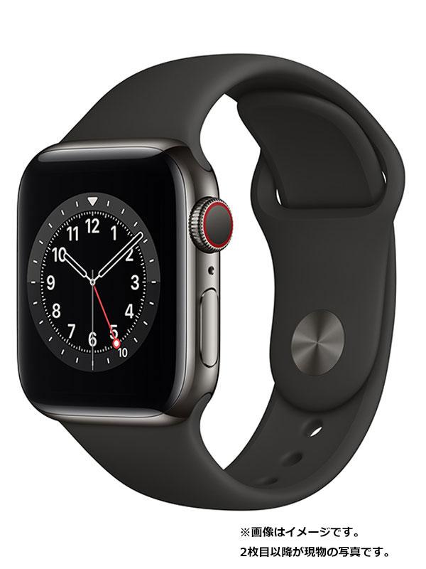 【Apple】【アップルウォッチ シリーズ6】アップル『Apple Watch Series6 GPS+Cellularモデル 40mm』M06X3J/A ボーイズ スマートウォッチ 1週間保証【中古】