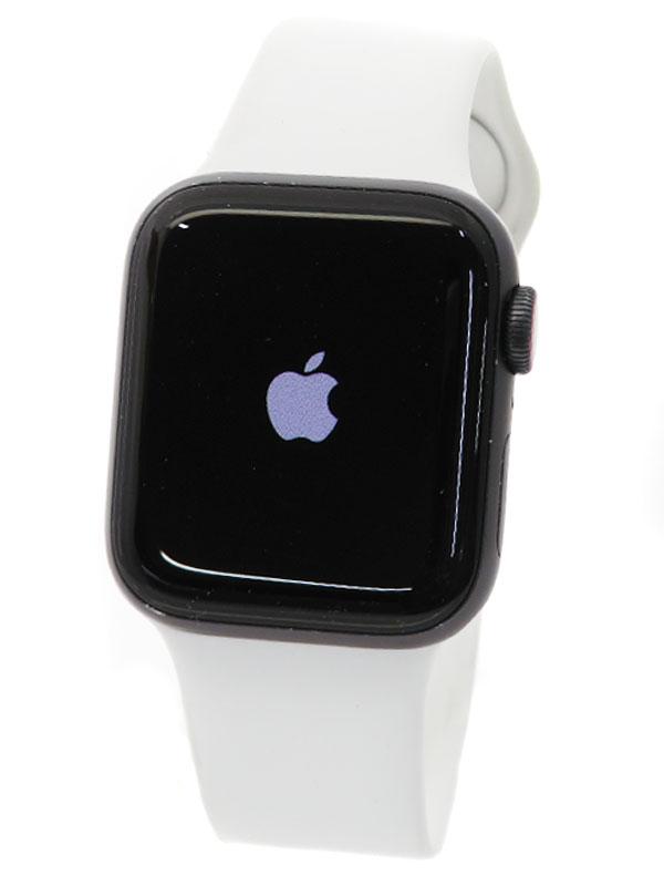【Apple】【アップルウォッチ シリーズ5】アップル『Apple Watch Series 5 GPS+Cellularモデル 40mm』MWX32J/A メンズ スマートウォッチ 1週間保証【中古】