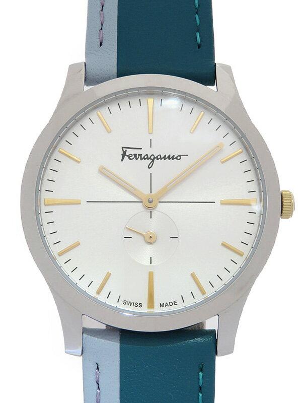 【Salvatore Ferragamo】フェラガモ『スリム スモセコ』SFDF00118 レディース クォーツ 1週間保証【中古】