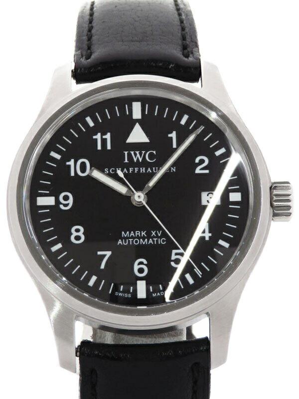 【IWC】【OH済】【マークXV】インターナショナルウォッチカンパニー『パイロットウォッチ マーク15』IW3253001 メンズ 自動巻き 3ヶ月保証【中古】