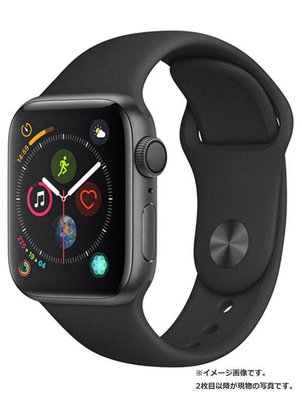【Apple】【アップルウォッチ シリーズ4】アップル『Apple Watch Series 4 GPS 44mm』MU6D2J/A メンズ スマートウォッチ 1週間保証【中古】