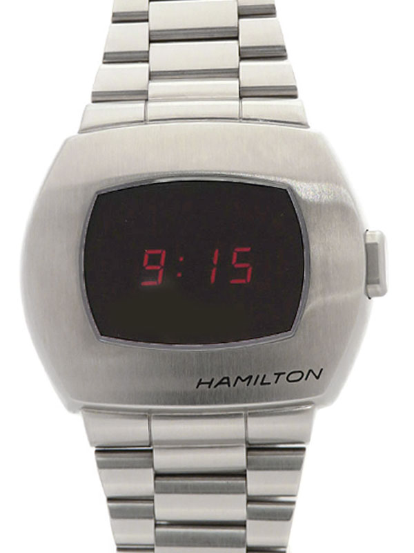【HAMILTON】【電池交換済】ハミルトン『PSR パルサー50周年記念』H52414130 メンズ クォーツ 1ヶ月保証【中古】