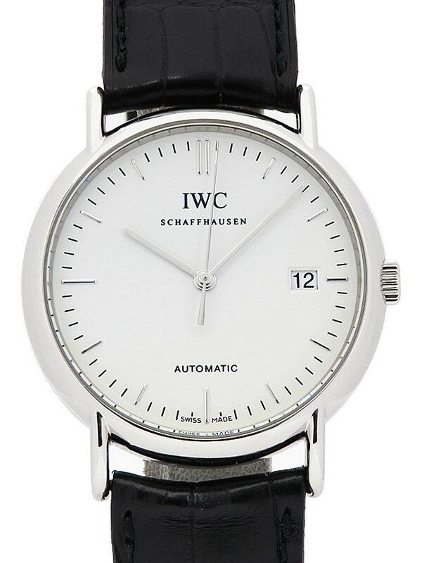 【IWC】【内部点検・仕上済】インターナショナルウォッチカンパニー『ポートフィノ』IW353301 メンズ 自動巻き 3ヶ月保証【中古】