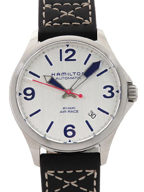 【HAMILTON】【裏スケ】ハミルトン『カーキ アビエーション レッドブルエアレース』H76225751 メンズ 自動巻き 1週間保証【中古】