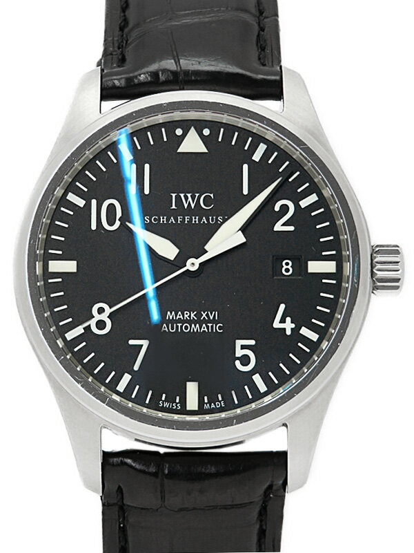 【IWC】インターナショナルウォッチカンパニー『パイロットウォッチ マーク16』IW325501 メンズ 自動巻き 3ヶ月保証【中古】