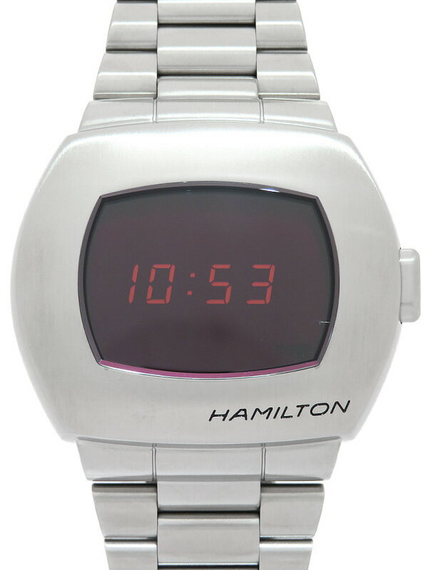 【HAMILTON】【'20年購入】【1970本限定】【美品】ハミルトン『PSR パルサー50周年記念』H52414130 メンズ クォーツ 1ヶ月保証【中古】