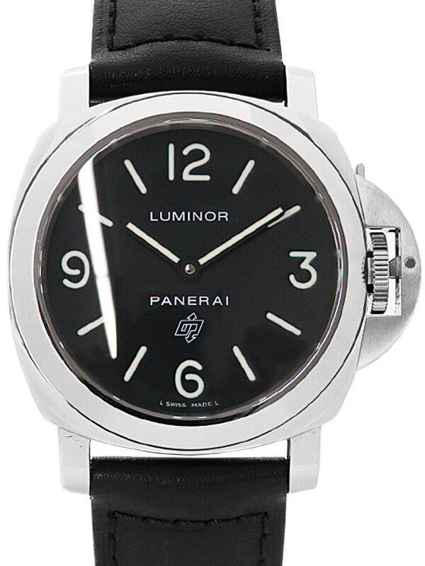 【PANERAI】パネライ『ルミノールベース ロゴ 44mm』PAM00000 Q番'14年製 メンズ 手巻き 6ヶ月保証【中古】