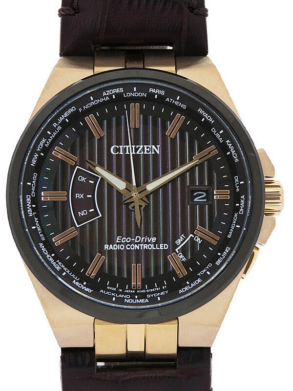 【CITIZEN】シチズン『エコドライブ』CB0168-08E メンズ ソーラー電波クォーツ 1週間保証【中古】