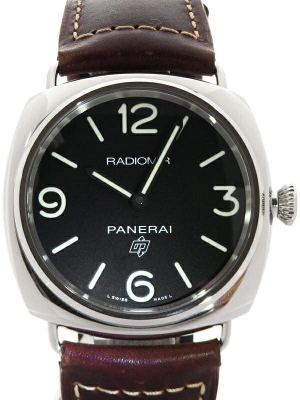 【PANERAI】パネライ『ラジオミール ベース ロゴ』PAM00753 U番'18年製 メンズ 手巻き 6ヶ月保証【中古】