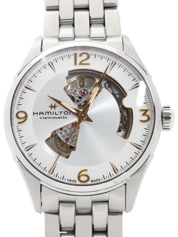 【HAMILTON】【裏スケ】ハミルトン『ジャズマスター ビューマチック』H32705151 メンズ 自動巻き 1ヶ月保証【中古】