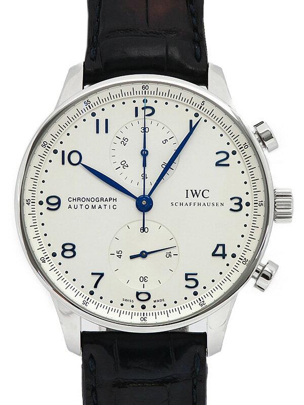 【IWC】インターナショナルウォッチカンパニー『ポルトギーゼ クロノグラフ』IW371446 メンズ 自動巻き 6ヶ月保証【中古】
